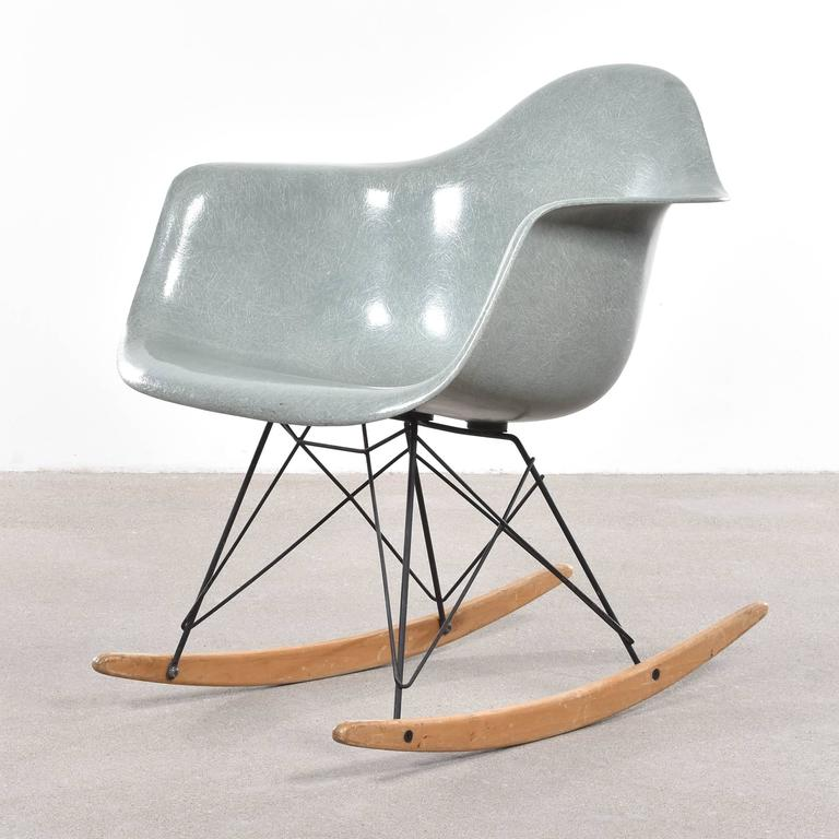 eames rocking chair green. eames sea foam green rar herman miller usa \u0027zenith\u0027 rocking chair 2