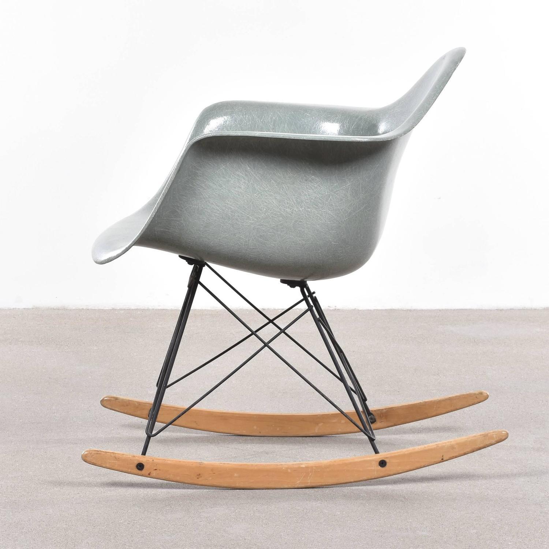 eames sea foam green rar herman miller usa 39 zenith 39 rocking chair at