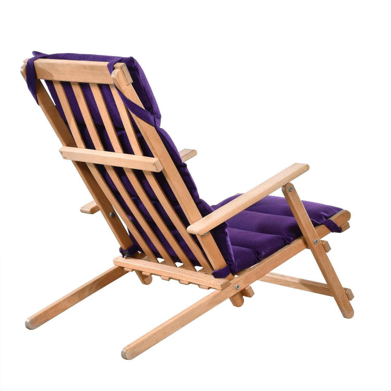 B¸rge Mogensen Deck Chair for S¸borg M¸belfabrik Denmark For Sale