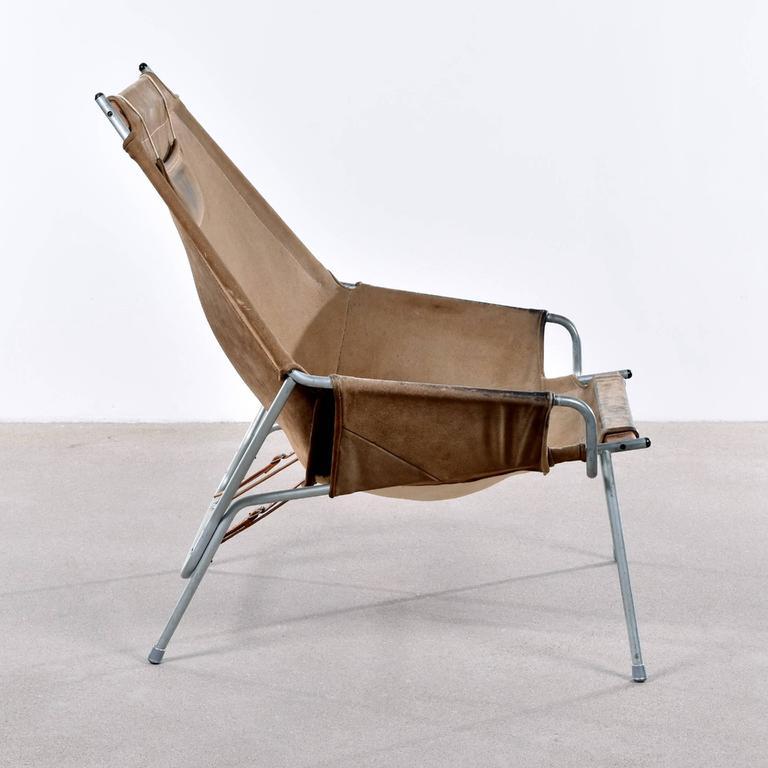 Danish Erik Ole Jørgensen Lounge Chair for Bovirke For Sale
