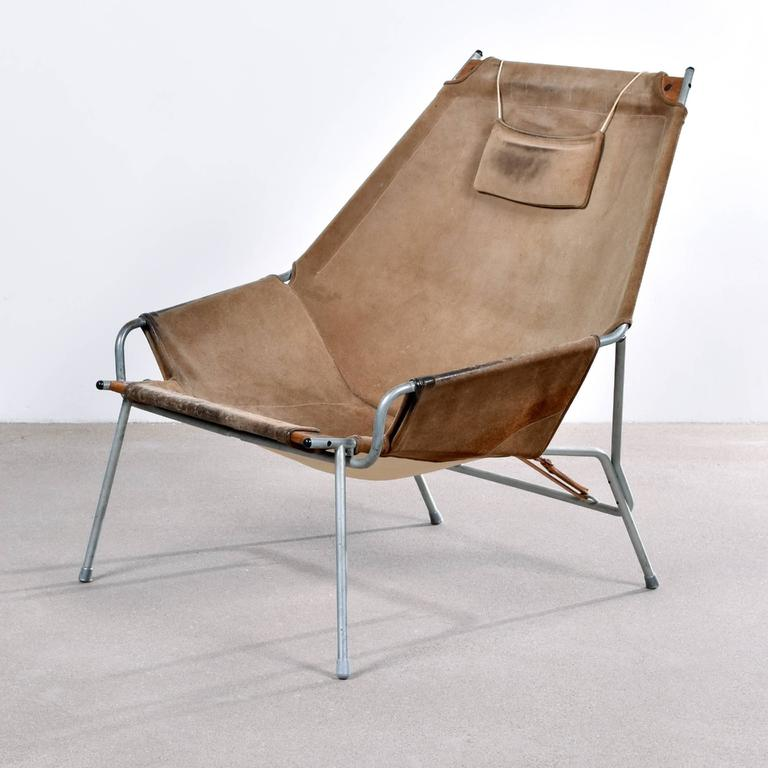 Erik Ole Jørgensen Lounge Chair for Bovirke In Good Condition For Sale In Amsterdam, NL
