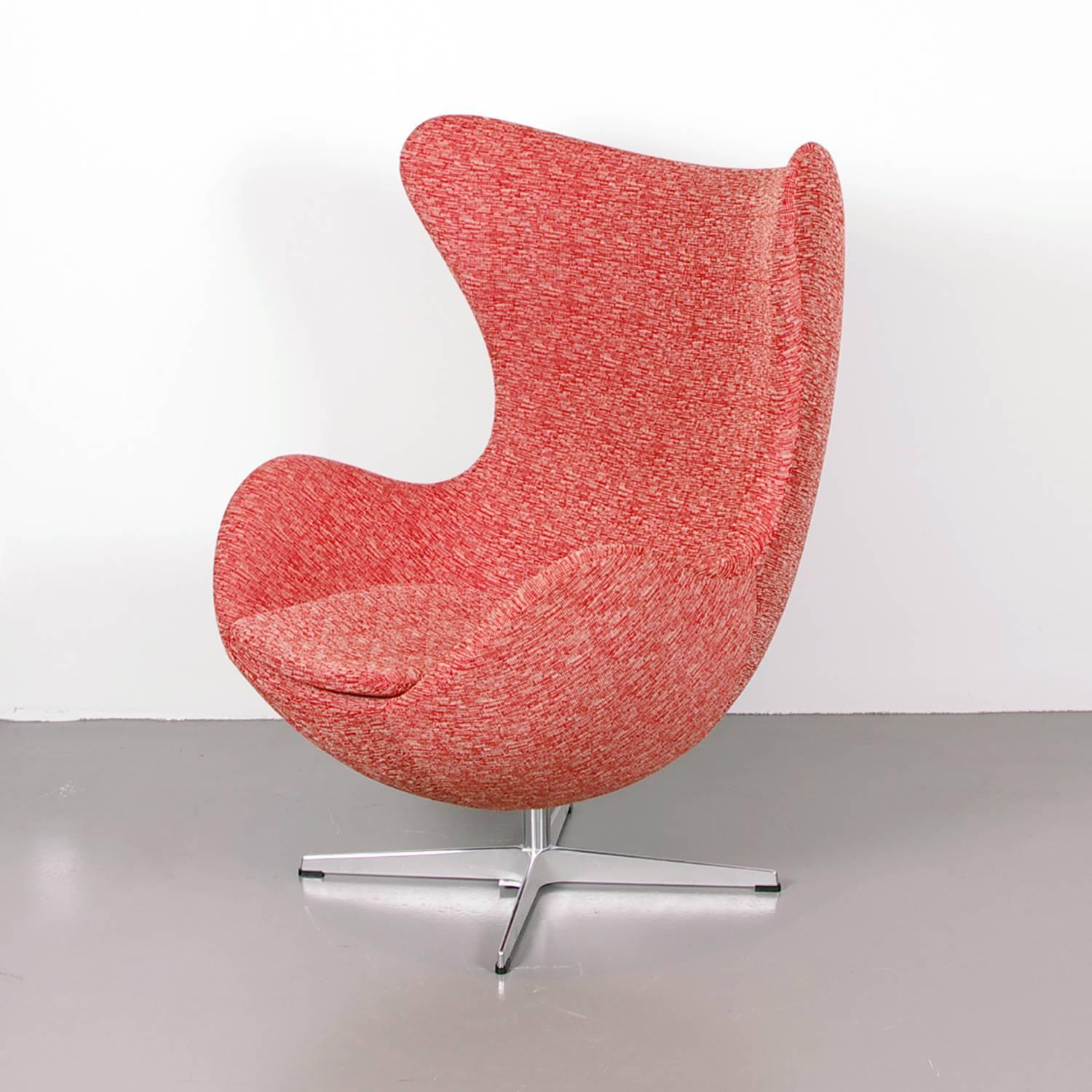 Arne Jacobsen Egg Chair For Fritz Hansen For Sale At 1stdibs