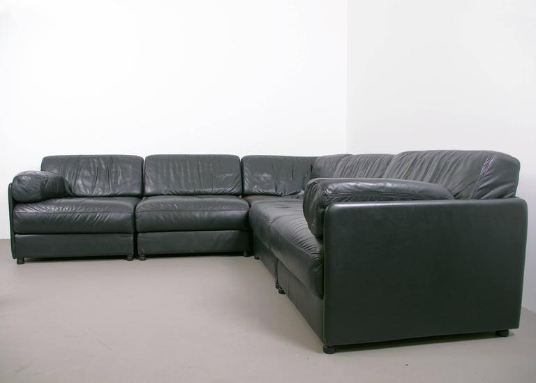 de sede modular sofa ds 76 for sale at 1stdibs. Black Bedroom Furniture Sets. Home Design Ideas