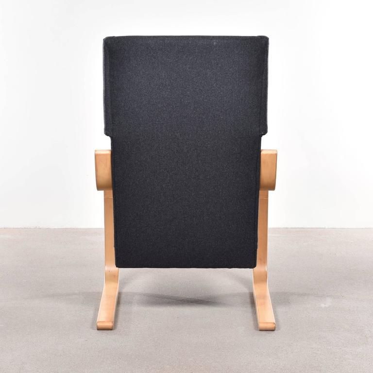 Fabric Alvar Aalto 401 Wingback Lounge Chair for Artek, Finland