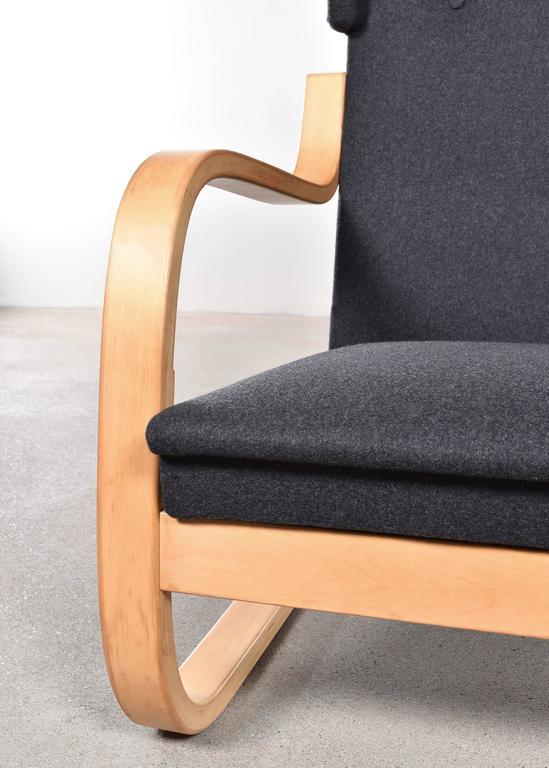 Alvar Aalto 401 Wingback Lounge Chair for Artek, Finland 3