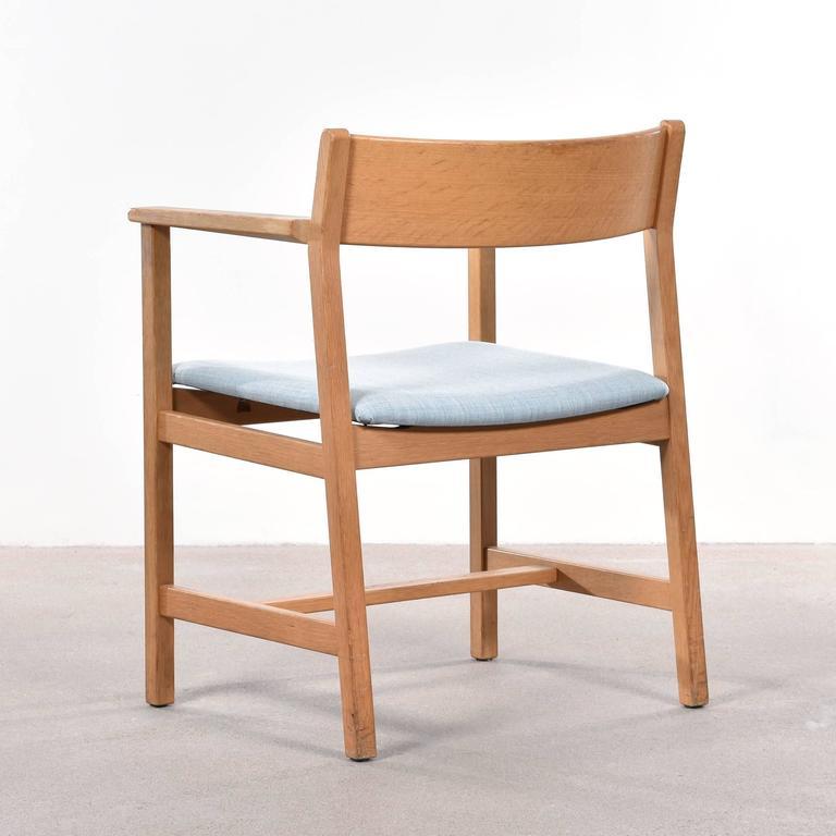 Scandinavian Modern Børge Mogensen Dining Chairs, Model 3248 for Fredericia Stolefabrik For Sale