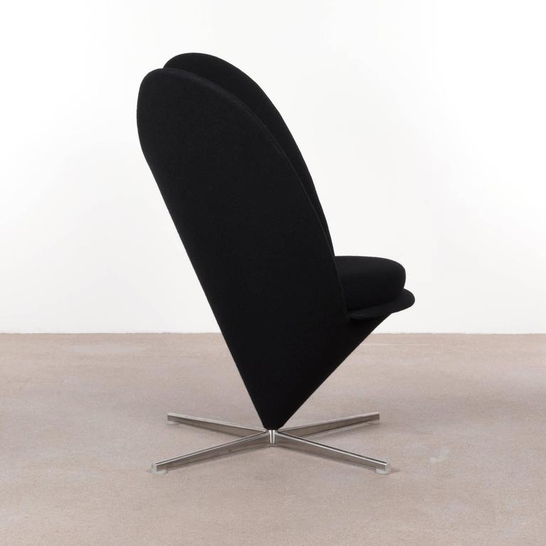 verner panton cone heart chair by vitra germany at 1stdibs. Black Bedroom Furniture Sets. Home Design Ideas