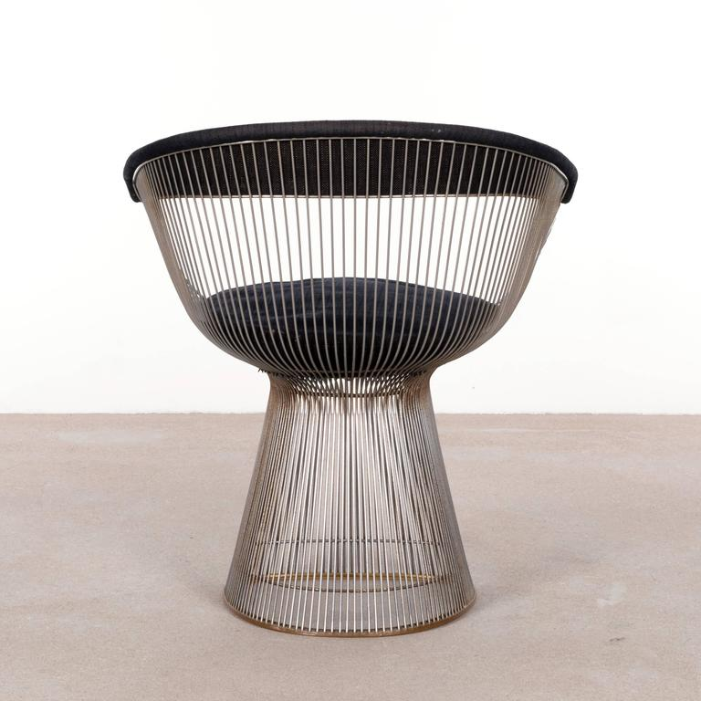 Warren Platner Dining Chairs for Knoll 4