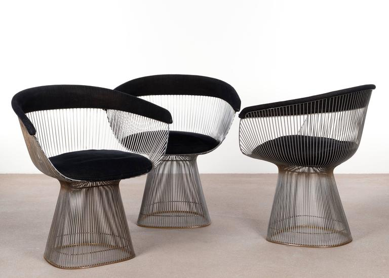 Warren Platner Dining Chairs for Knoll 6