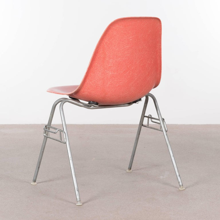 American Eames DSS Stacking Side Chair for Herman Miller For Sale