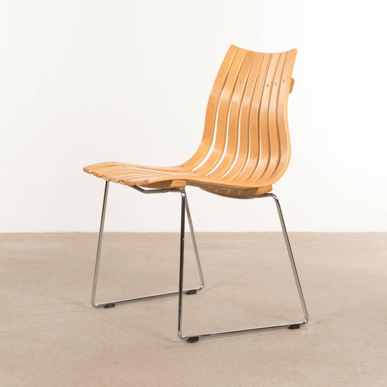 Hans brattrud beechwood scandia junior side chair for hove for Furniture hove