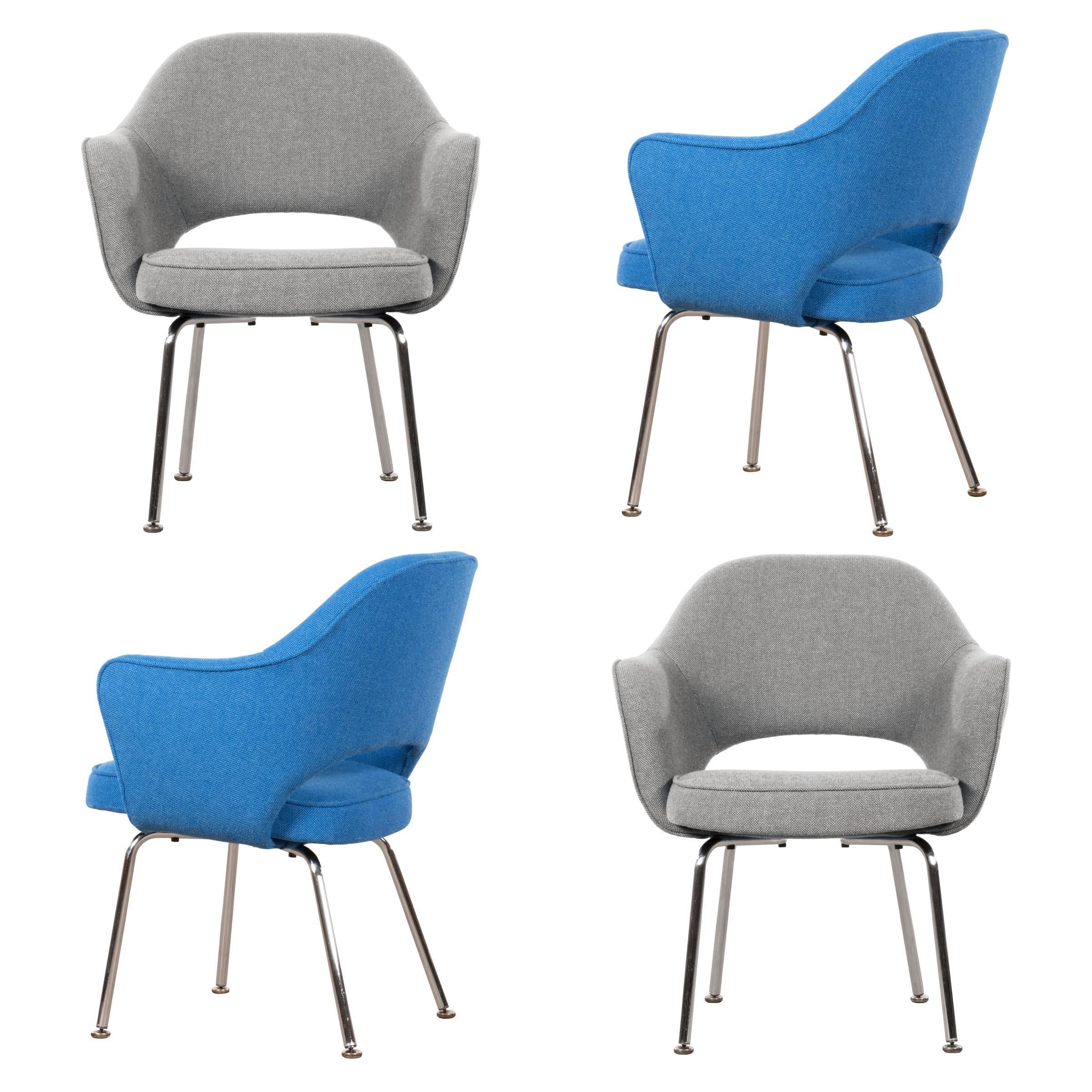Eero Saarinen Executive Armchairs for Knoll and De Coene