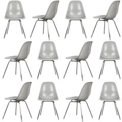 Charles and Ray Eames DSX Dining Chair Sea Foam Green Light, Vitra