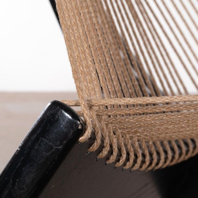 Jørgen Høvelskov Black Harp Lounge Chair for Jørgen Christensens For Sale 4