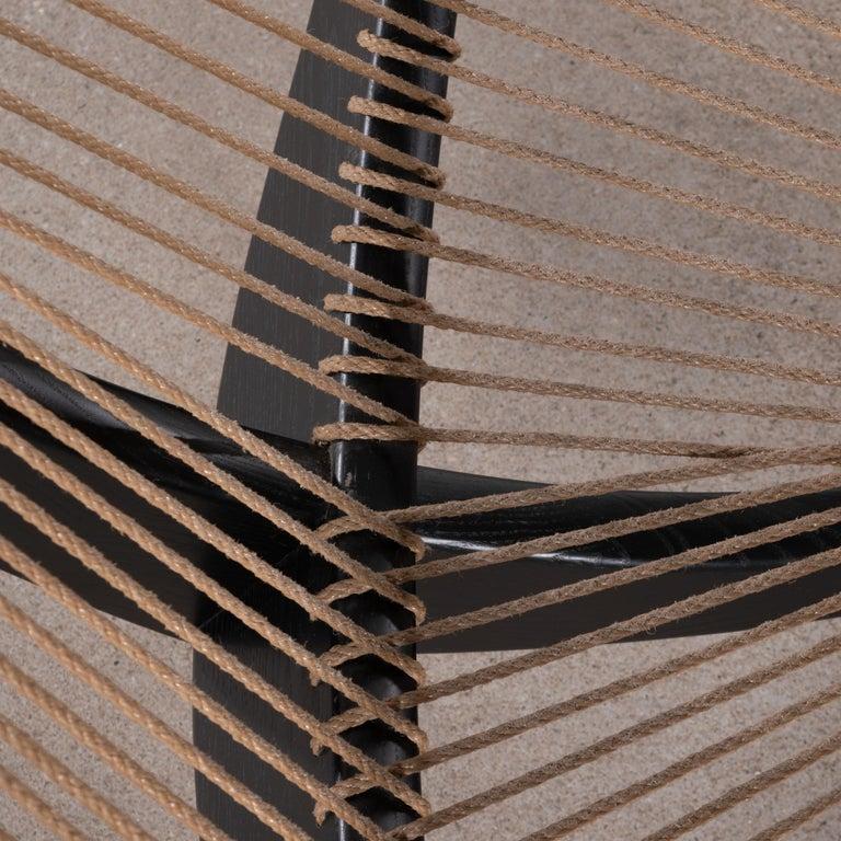 Jørgen Høvelskov Black Harp Lounge Chair for Jørgen Christensens For Sale 6