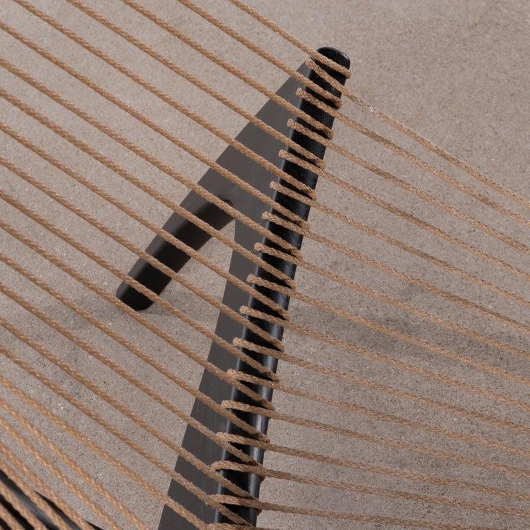 Jørgen Høvelskov Black Harp Lounge Chair for Jørgen Christensens For Sale 8