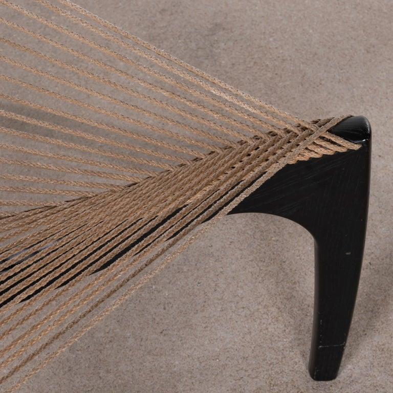 Jørgen Høvelskov Black Harp Lounge Chair for Jørgen Christensens For Sale 9