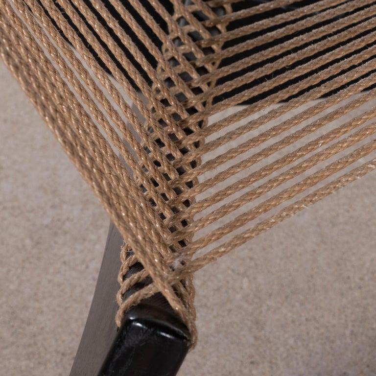 Jørgen Høvelskov Black Harp Lounge Chair for Jørgen Christensens For Sale 11