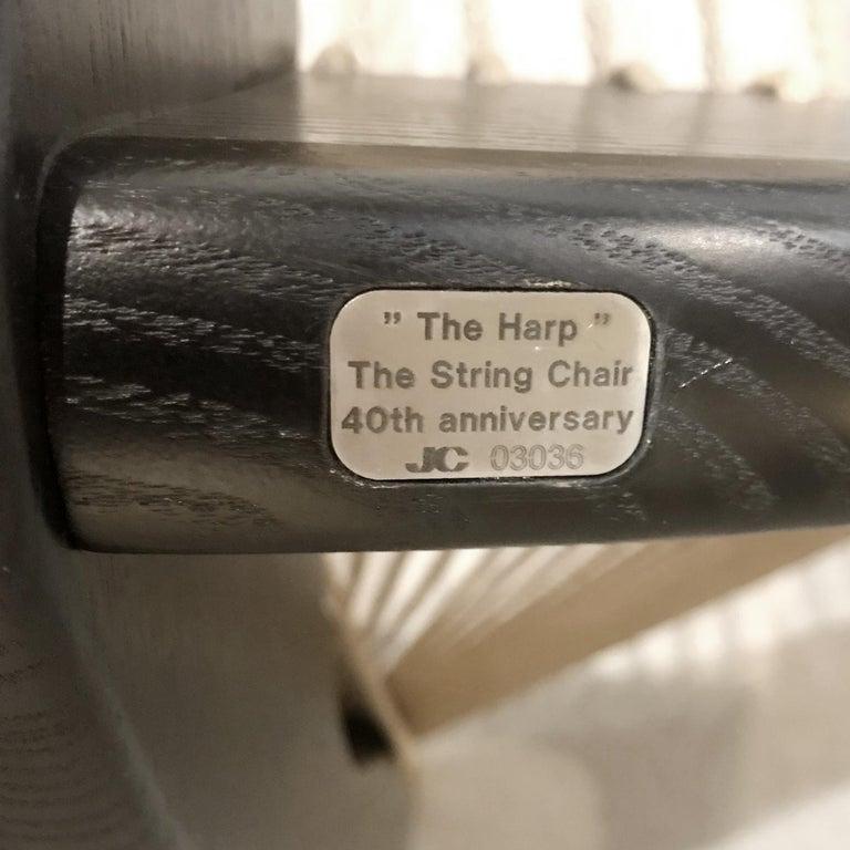 Jørgen Høvelskov Black Harp Lounge Chair for Jørgen Christensens For Sale 13