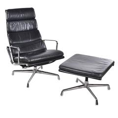 Eames EA222 and EA223 Lounge Soft Pad Herman Miller / Vitra Chair