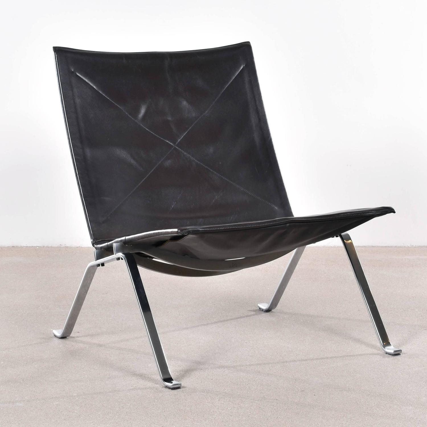 Poul Kjaerholm PK22 Lounge Chair For E Kold Christensen At 1stdibs
