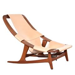 Arne Tidemand-Ruud 'Holmenkollen' Lounge Chair for Norcraft, Norway