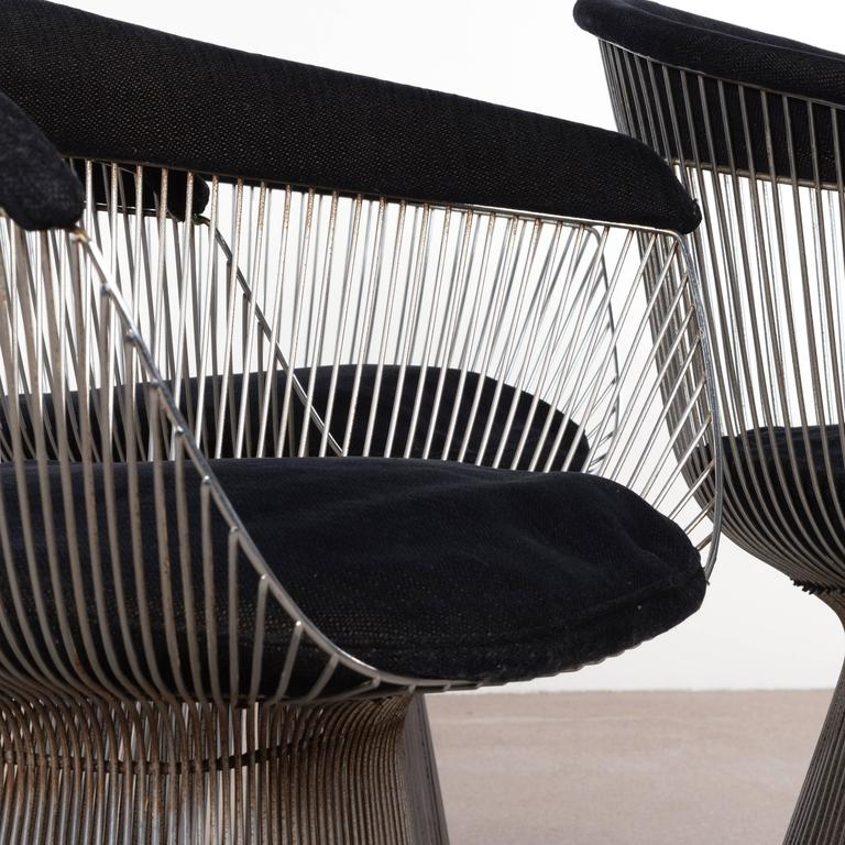 Warren Platner Dining Chairs for Knoll 8
