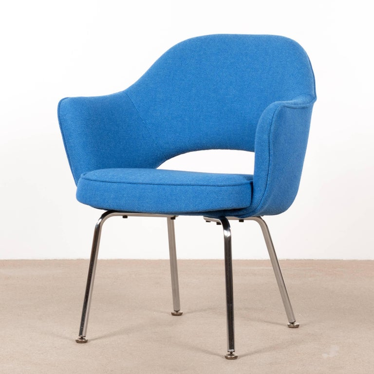 Eero Saarinen Executive Armchairs for Knoll and De Coene In Excellent Condition For Sale In Amsterdam, NL