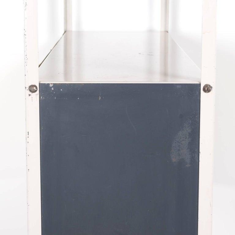 Steel Modular Bookcase or Room Divider by Friso Kramer for Asmeta, Netherlands For Sale