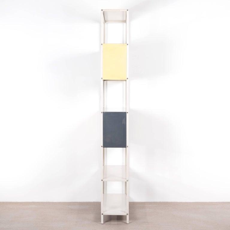 Mid-Century Modern Modular Bookcase or Room Divider by Friso Kramer for Asmeta, Netherlands For Sale