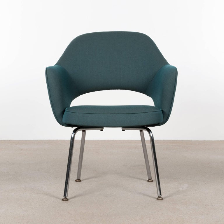Belgian Eero Saarinen Executive Armchairs for Knoll and De Coene For Sale