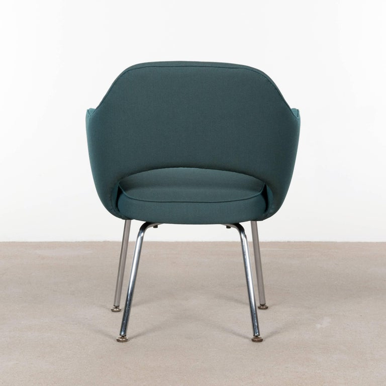 Mid-Century Modern Eero Saarinen Executive Armchairs for Knoll and De Coene For Sale