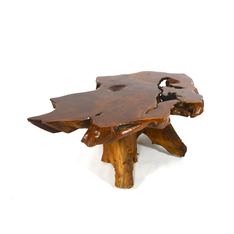 Californian Redwood Burl Coffee Table At 1stdibs