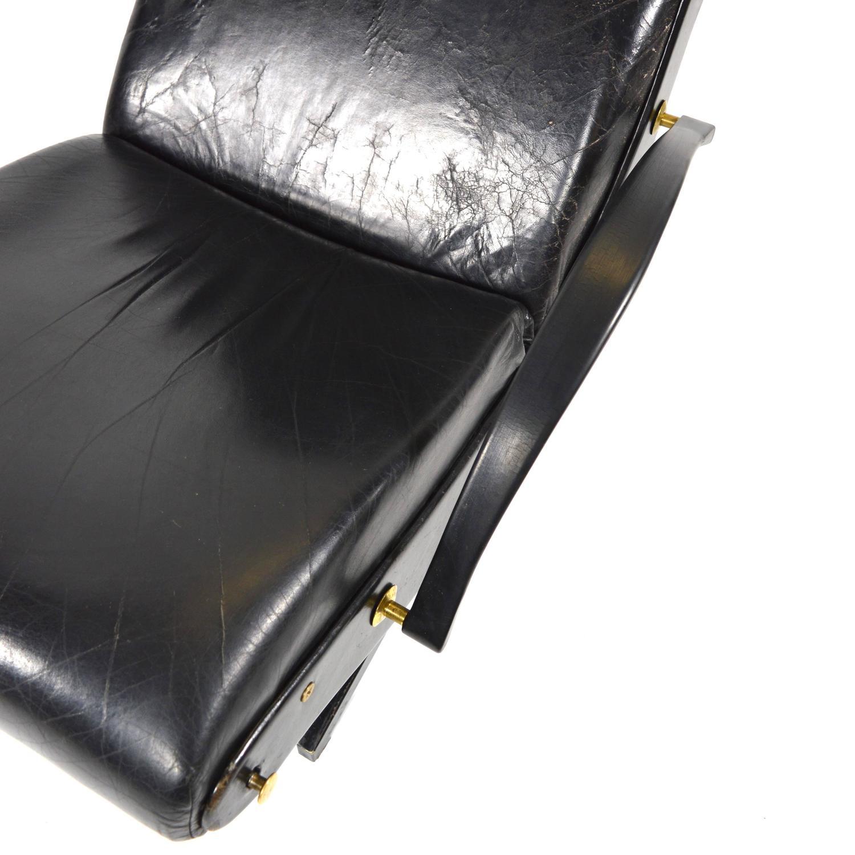 Borsani P40 Lounge Chair For Tecno Italy 1950s At 1stdibs
