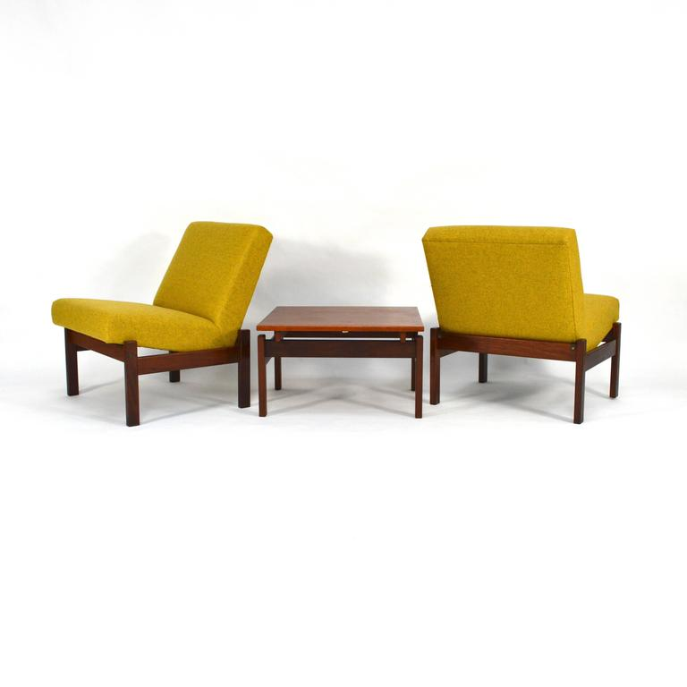 Pair of Lounge Chairs by Yngve Ekström for Swedese, Sweden, 1950s at 1stdibs