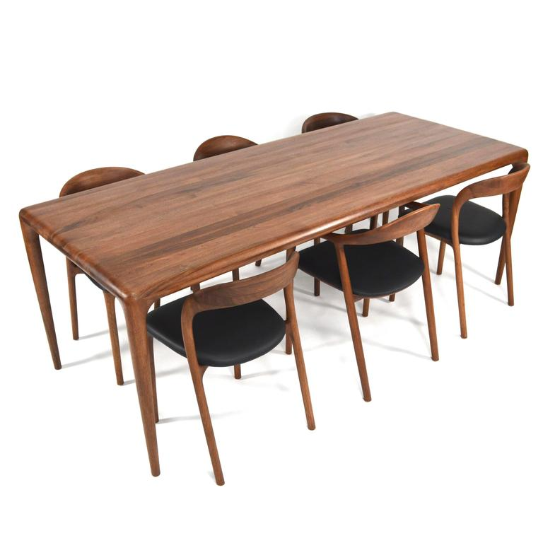 artisan collection dining room chairs in european walnut