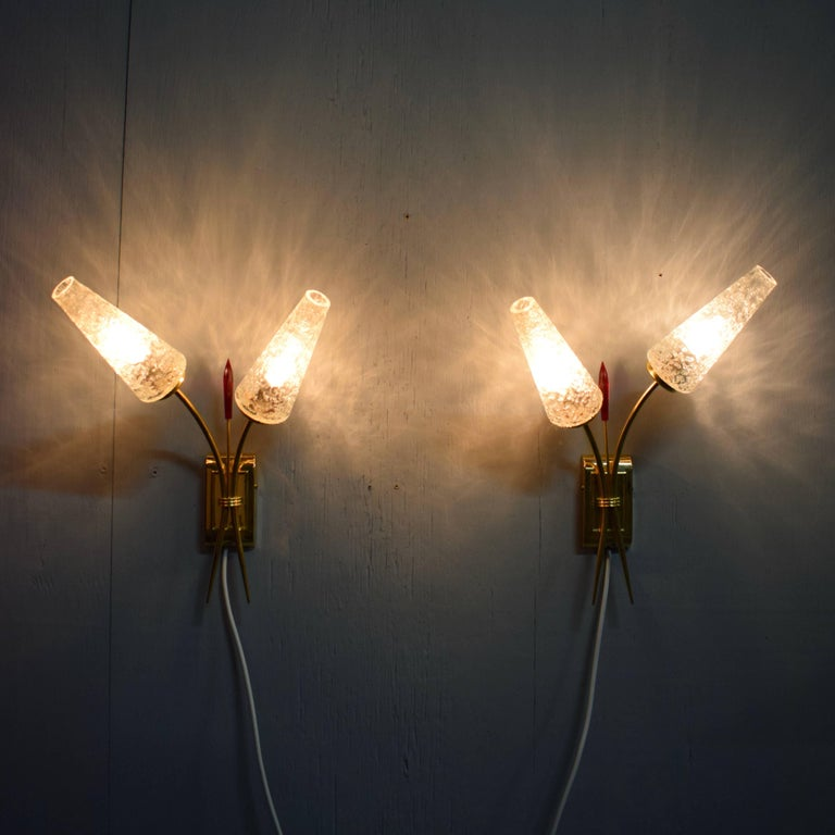 Pair of wall lamps by Eon.