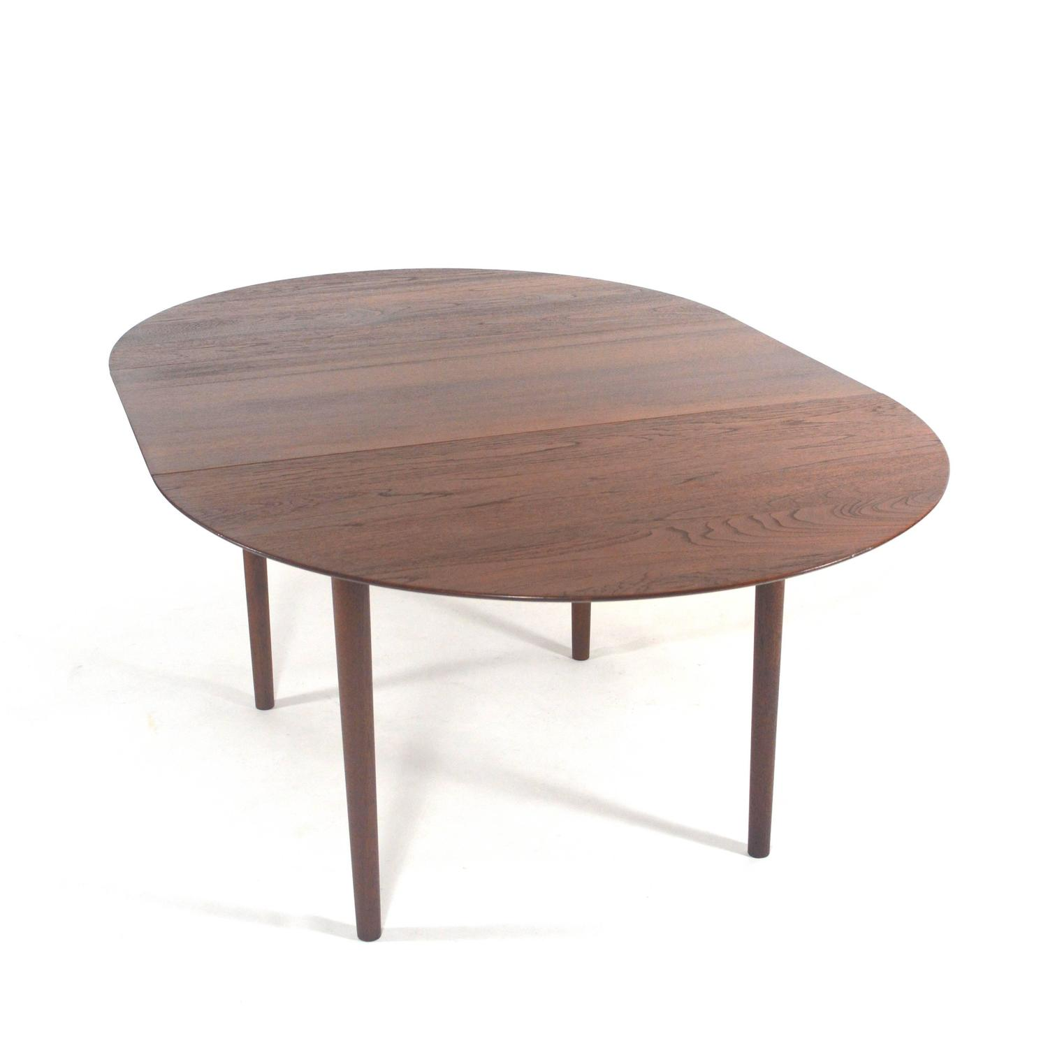 restored no 311 dining table by hvidt and m 248 lgaard nielsen denmark 1956 for sale at 1stdibs
