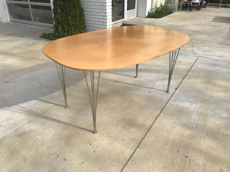 Quot Superellipse Quot Table By Bruno Mathsson And Piet Hein For