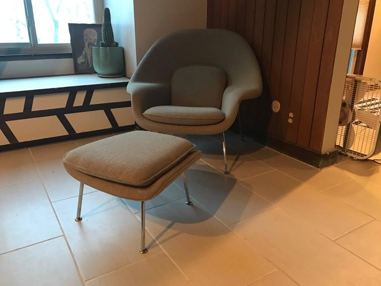 Eero Saarinen Child Size (Medium) Womb Chair And Ottoman For Knoll 3