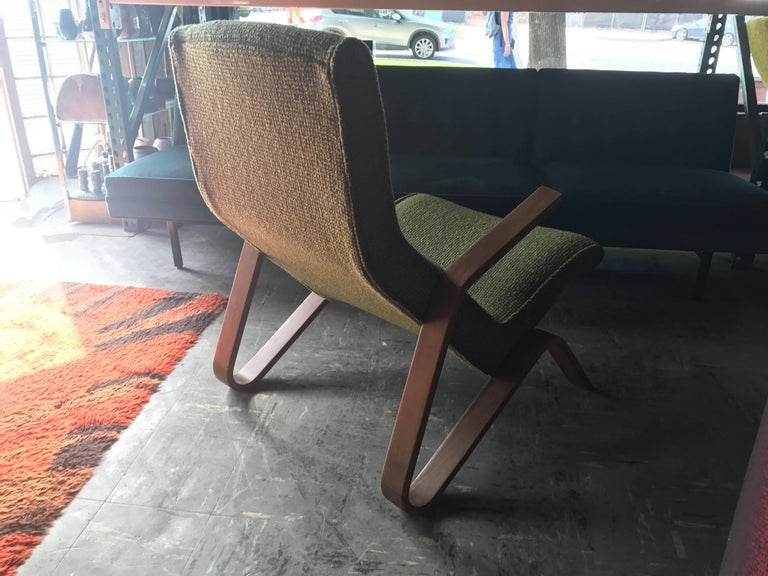 """Early Eero Saarinen """"Grasshopper"""" Lounge Chair for Knoll For Sale 1"""