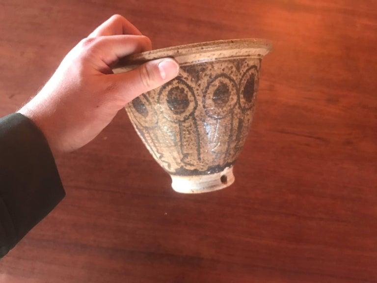 Mid-20th Century Vintage California Art Ceramic Planter Pot Pottery Mid-Century Modern For Sale