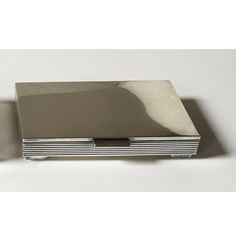 art deco georg jensen silver cigarette box designed by sigvard bernadotte for sale at 1stdibs. Black Bedroom Furniture Sets. Home Design Ideas