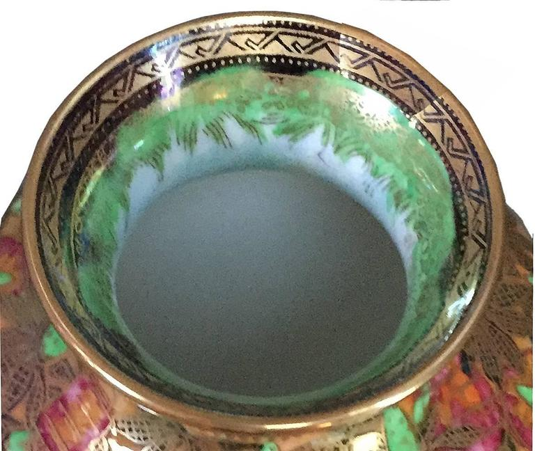 Wedgwood Porcelain Art Deco Fairyland Lustre Willow Vase 3