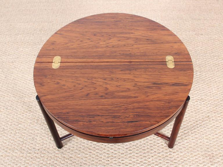 Bar Coffee Table in Palissander by Rolf Rastad and Adolf Relling For Sale 2