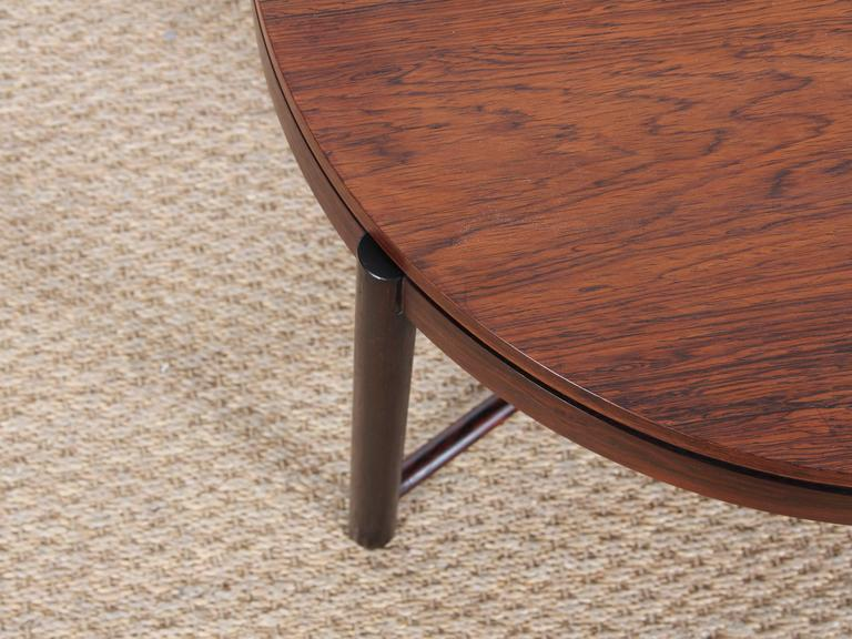 Bar Coffee Table in Palissander by Rolf Rastad and Adolf Relling For Sale 4