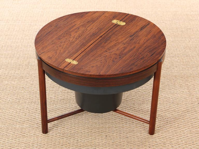 Bar Coffee Table in Palissander by Rolf Rastad and Adolf Relling For Sale 1