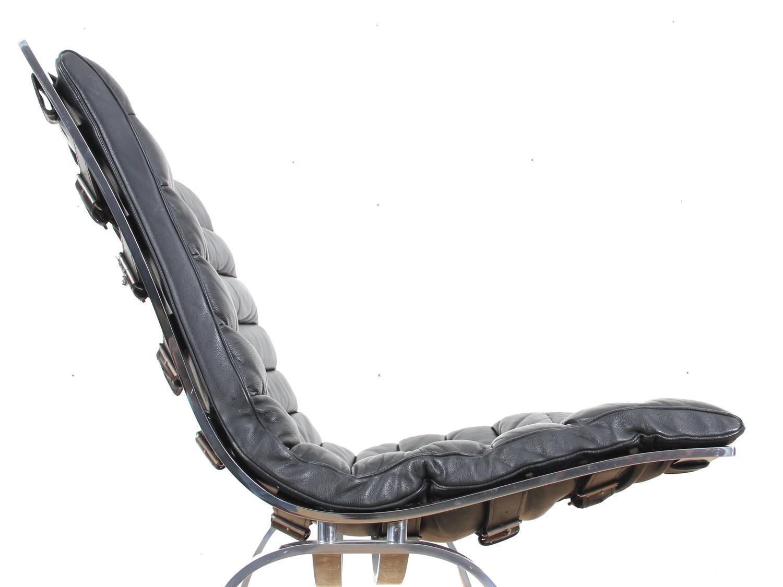 Modern lounge chair pj 112 by ole wanscher modern lounge danish modern - Mid Century Modern Scandinavian Chair Model Ariet By Arne