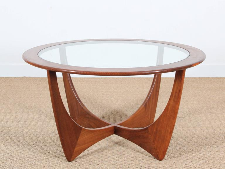 Mid century modern danish coffee table by ib kofod larsen for Table basse scandinave conforama