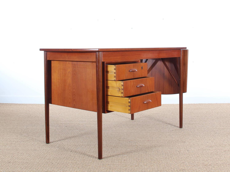 Modern Writing Desk ~ Mid century modern writing desk in teak at stdibs